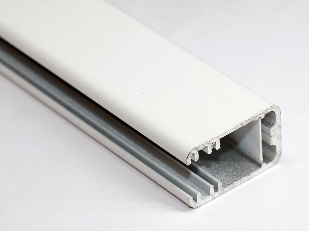 2 0m gkw8 alu glaskanten profil wei glaskantenbeleuchtung glasbodenbeleuchtung 200cm led. Black Bedroom Furniture Sets. Home Design Ideas