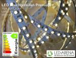 LED Strip600PRO 5m Warmweiß 3000k 8mm 600LED 48Watt 3528 12V 9,6W/m IP20 Premium